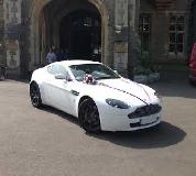 Aston Martin Vantage Hire  in Manchester
