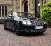 Bentley Continental Hire in Manchester