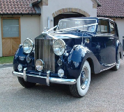Blue Baron - Rolls Royce Silver Wraith Hire in Manchester