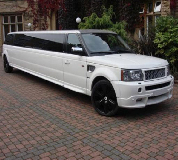 Range Rover Limo in Manchester