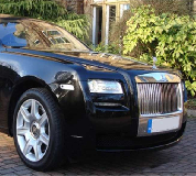 Rolls Royce Ghost - Black Hire in Manchester