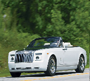 Rolls Royce Phantom Drophead Coupe Hire in Manchester