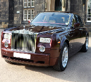 Rolls Royce Phantom - Royal Burgundy Hire in Manchester